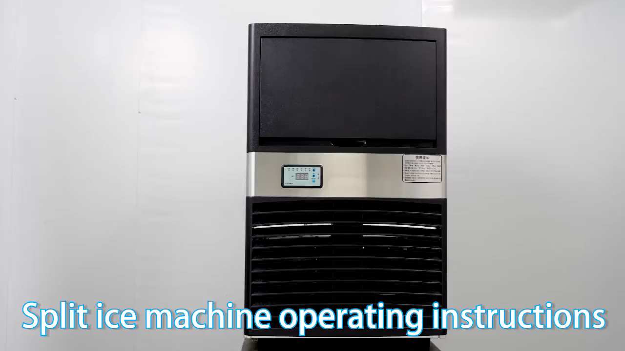Edelstahl + ABS eismaschine maschine 200kg kommerziellen cube eis maschine
