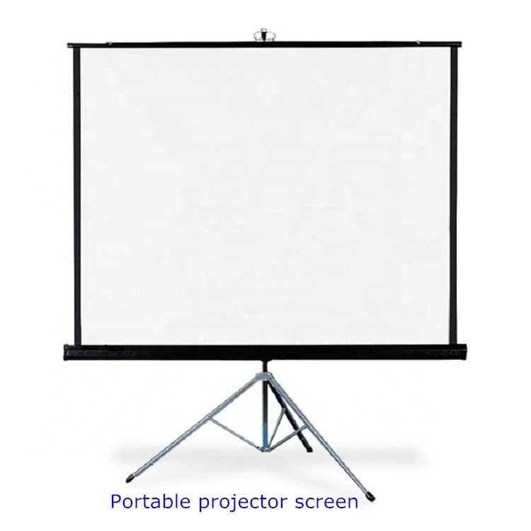 <strong>Portable</strong> rack projection <strong>screen</strong> 100 inch Matt White HD Floor Foldable Stand Tripod frame Projector <strong>Screen</strong> For Home School