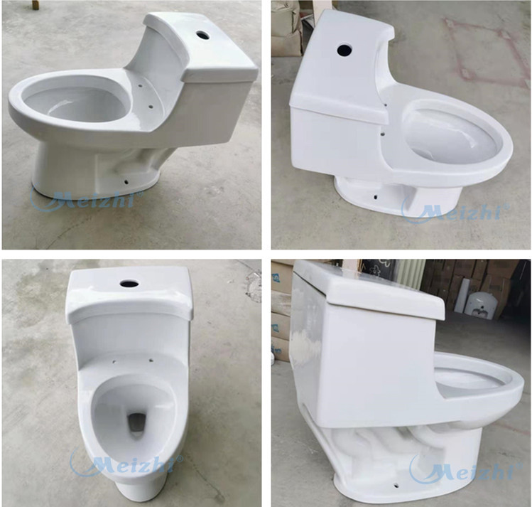 Ceramic Double Siphonic Tornado One Piece Flush Toilet