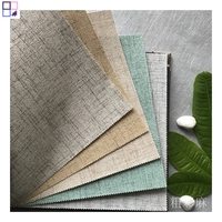 Modern 3d design home wallpaper linen fabric wallpapers wall clothing for home improvement