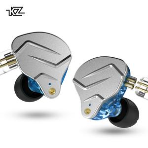 Aliexpress Hot Sale Kz Zsn Pro Headphone Wired Noise Cancelling Hifi Stereo Sport Earphone