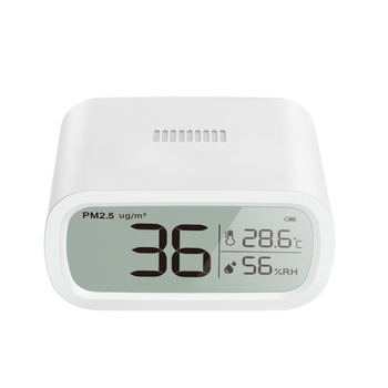 Portable Multi Gas Detector White PM2.5 detector Household Air Quality Monitor