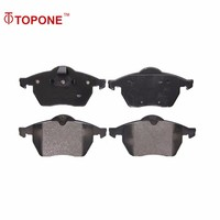 For CHEVROLET/SAAB/VAUXHALL/opel D736 D840 GDB1271 GDB1717 Topone Brake Pads Spare Parts 1605036 90512037 1777990 12759808