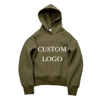 Fall And Winter New Design Long Sleeve Custom Solid Pullover Casual Men's Hooded Hoodies