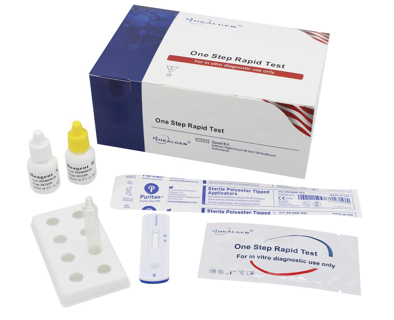 test ocular rapid