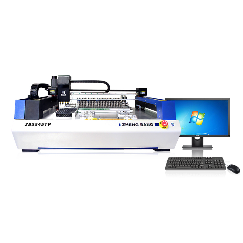 ZHENGBANG highly repetitive and accuracy  smt  pick and place machine   ZB3545TP for Electronic products and LED lighting