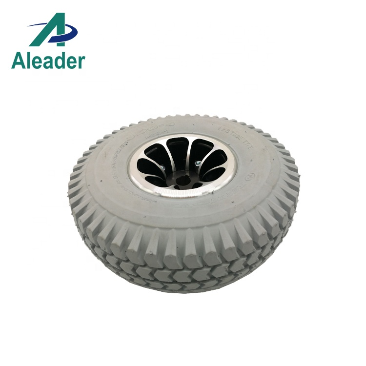 3.00-4 Tire 260x85 3.00 4 Wheel Mobility Scooter Wheels Mobility Scooter Spare Parts Solid Wheels Puncture Proof Tires 3.00-4