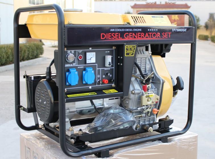diesel generator 8Kva portable home open diesel engine generator