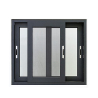 aluminium windows and doors aluminium double glass sliding window frame