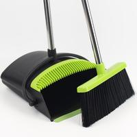 Small Footprint And Convenient Durable Material 3 In 1 Magic Sweeping Broom And Dustpan Set With Cleaning Tooth