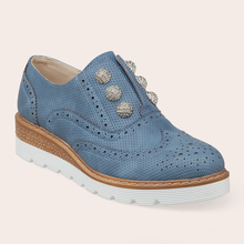 Commercio all'ingrosso Hollow Elegante Signore Casuali Brogue Piattaforma <span class=keywords><strong>Oxford</strong></span> <span class=keywords><strong>Scarpe</strong></span> Per Le Donne
