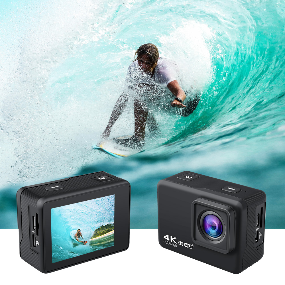 2020 Baru Kualitas Tinggi Akaso Ek7000 Olahraga Kamera 4K Wifi Tahan Air Digital 20MP Eis Kamera Video Motor Kamera