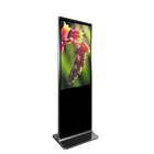 all in one pc 43'' floor stand lcd touch screen advertising tv stand display