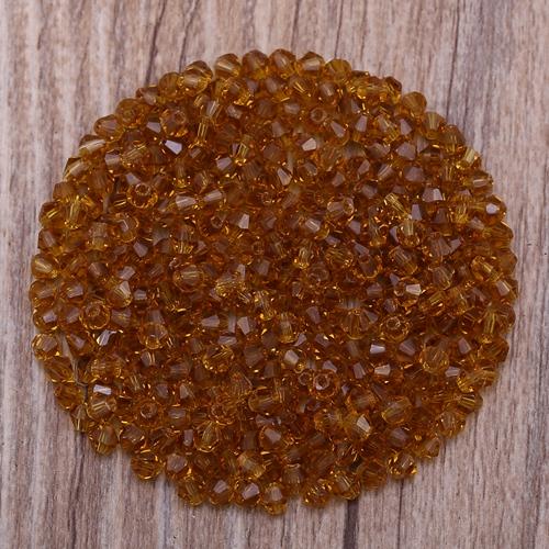 Прозрачные AB 100 шт 4 мм Австрийские хрустальные биконовые бусины 5301 очаровательные стеклянные бусины для изготовления ювелирных изделий S-27(Китай)