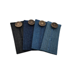Comfy Buttons for Jeans 4-pack Denim Waist Extenders for an Easy Fit Metal Buttons