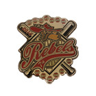 Manufacturer Custom Metal Soft Enamel Baseball Sport Lapel Pin Badge