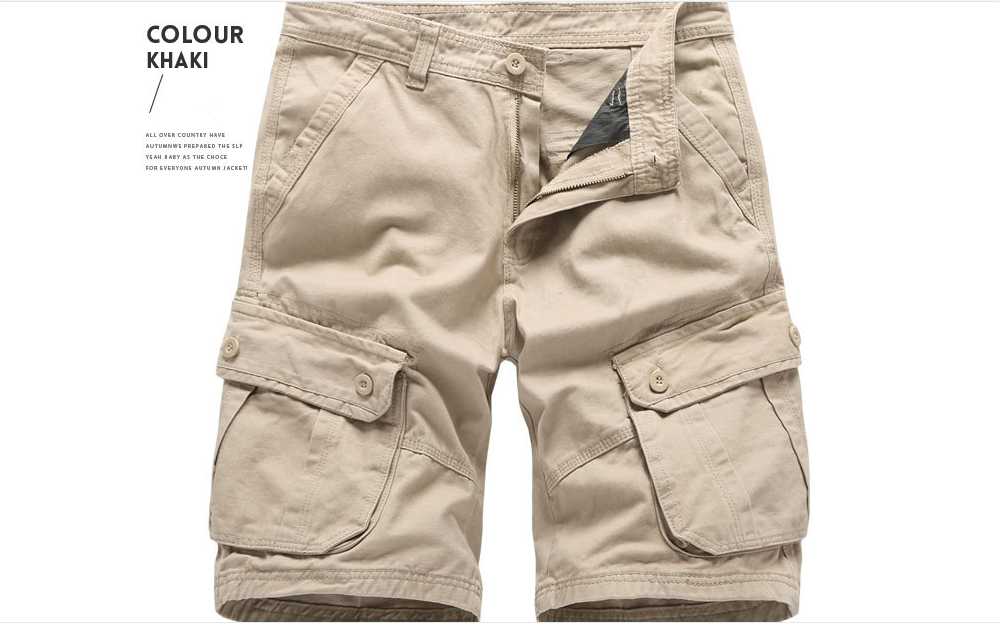 2020 Summer men shorts casual loose plus size high quality cargo shorts