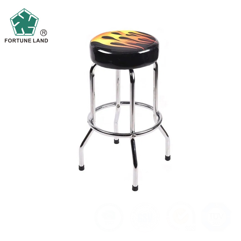 high metal stool bar model chair with Chrome Finish