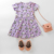 In-Stock Items Children Clothes Little Girls Dress Summer Short Sleeve Party Dress Kids 100 Cotton Boutique Shop Dresses 2-6Y