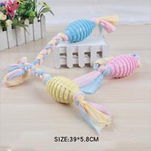 Коллекция хлопковых канатов, тканевых лент, жевательные игрушки для собак, материал TPR, защита окружающей среды и устойчивость к укусам(Китай)