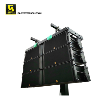 "K2 Dual 12"" 3 Way Line Array Speakers Box Design"