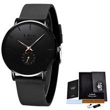 LIGE новые женские часы розового золота, деловые кварцевые часы, дамские Роскошные Брендовые женские наручные часы, женские часы для девушек, ...(Китай)