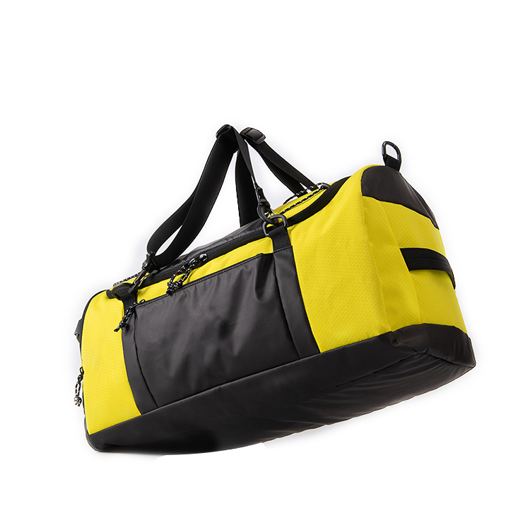 Fashion 210D Polyester Custom Waterproof Women Outdoor Travel Sports Duffle Bag