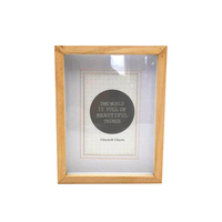Natural Solid Wood Shadow Box Frames Bulk Wholesale
