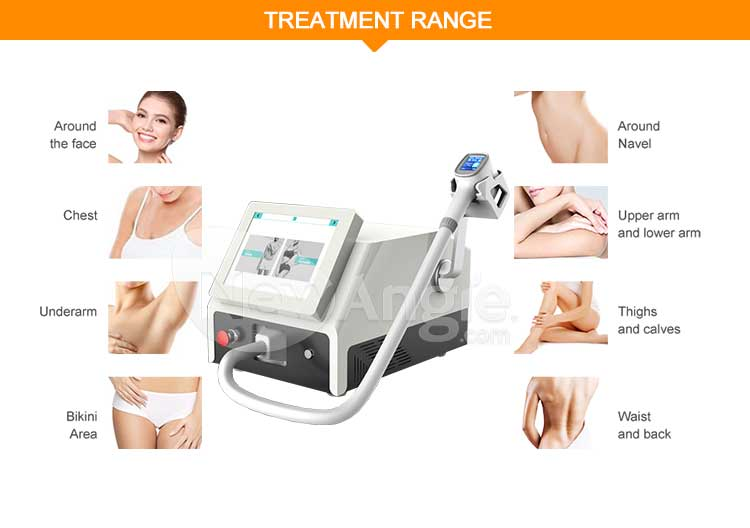 808nm depilador laser diode hair removal machine