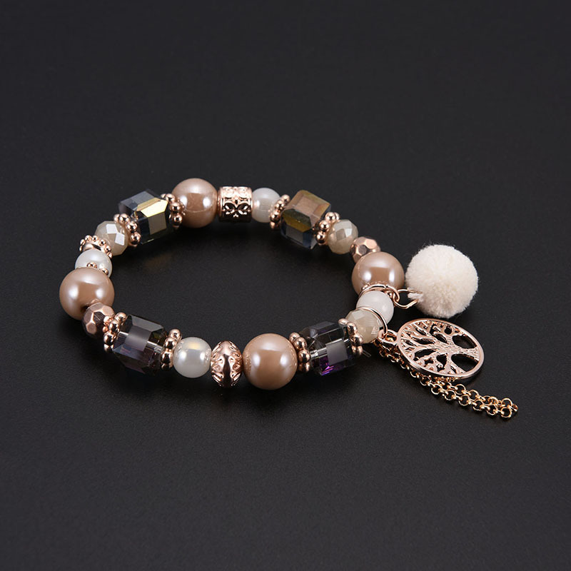 Fashion fancy pearl jewelry beads bracelet for women