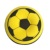 Portable Air Stool Seat Inflatable Round Beanbag Ottoman Foot Stool Modern Style Football Printed Bean Bag Footrest Stool