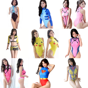 Sexy Costumes Anime Cosplay Swimsuit Widowmaker SpiderMan Bodysuit Eva Asuka Pikachu Dva kimono Mercy Bikini Racer Fancy Dress