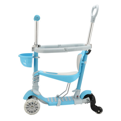 1-7 years old with guard bar and universal wheel scooter girl boy child kids scooter