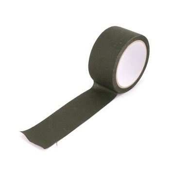 Green Outdoor Camping Military Hunting Heat Resist 10M Cotton Medical Vet Self Adhesive Bandage Duct Cloth Tape