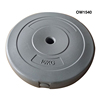 Plastic cement weight plate dumbbell plate wikth cheaper price