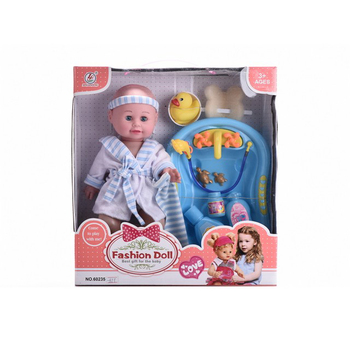 New fashion 14 inch washing baby doll vinyl doll shower set blowing body toy doll for kids 3+age