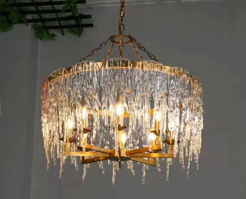 Modern luxury phenolic resinbig chandeliers lamp indoor decor hanging lamp