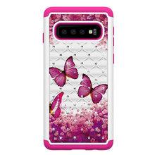 Роскошный блеск искристый горный хрусталь чехол для телефона для Samsung Galaxy S10e S10 S9 S8 Plus Note 10 9 A20 A30 A50 милый бриллиант крышка(China)