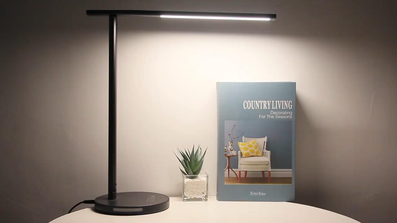 Enerji tasarruflu başucu masa lambası katlanmış led ışık