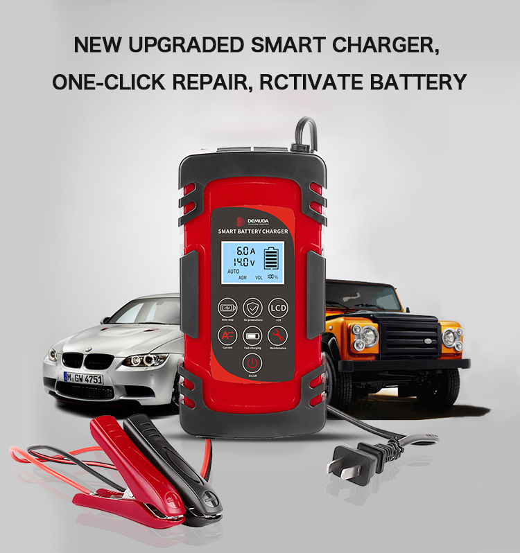 new upgraded smart charger diesel generator 4AH until 100AH smart battery charger