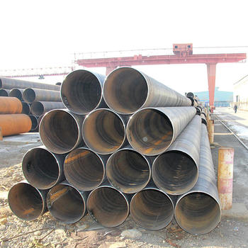 RUIJIE Manufacture Supply API 5L SSAW Spiral Welded Steel Pipe With Epoxy Powder Coating In Tianjin