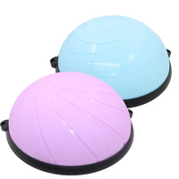 New Design Bosuing Half Balance Trainer Hemisphere Ball With Handles For Yoga Pilates Exercise