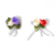 Colorful Cute Satin Ribbon Bow Applique Embellishment Decoration Gift