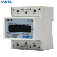 ADM100SC single phase energy meter 5-30A KWH