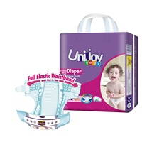 UNIJOY High Quality Competitive Price Disposable Baby Diaper Producers Manufacturer from China