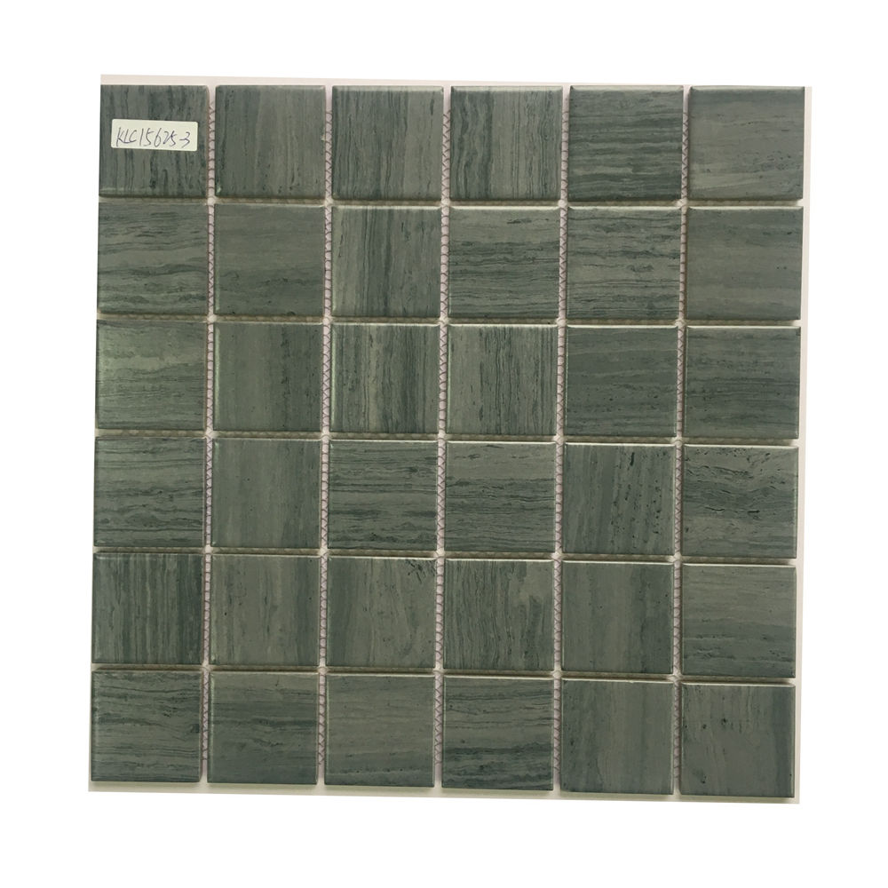 Hot selling blue ceramic mosaic porcelain tile for bathroom and kitchen Foshan China