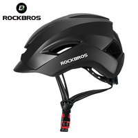 ROCKBROS Riding Bicycle Helmet Night Reflective Rode Safety Electric Bike Helmet Cycling Motorcycle Helmet