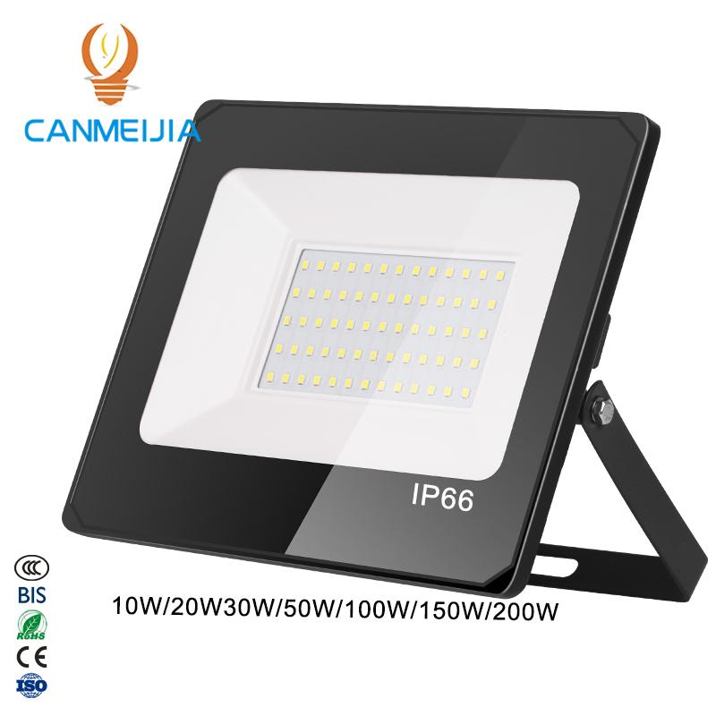 10W 20W 30W IP66 su geçirmez 50W açık led ışıkları 100W ışıldak 150W led açık aydınlatma 200W LED sel ışıkları/sel ışıkları