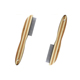 High quality wooden handle stainless steel dense tooth dog cat flea comb