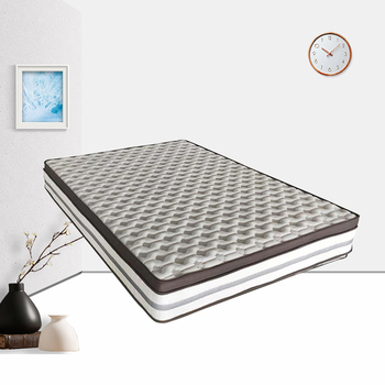 oem full size silicone memory cotton foam mattress sleeping bed in a box